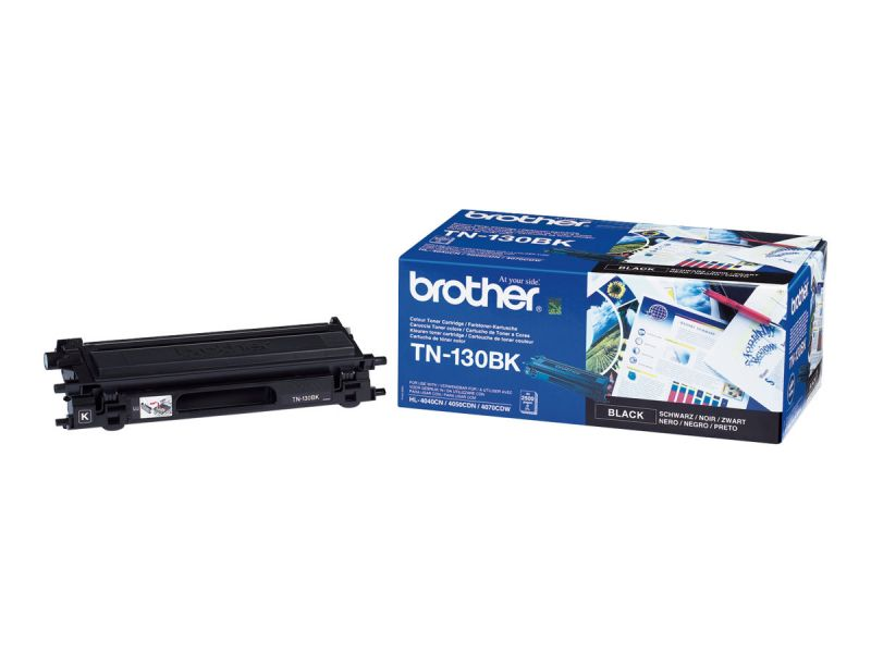 Brother TN130BK - Schwarz - Original - Tonerpatrone