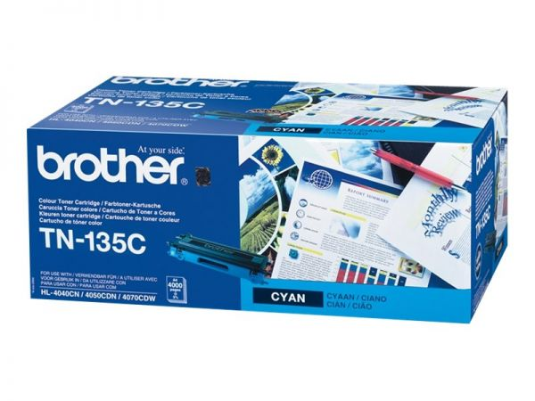Brother TN-135C - Hohe Ergiebigkeit - Cyan - Original