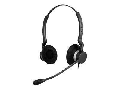Jabra BIZ 2300 QD Duo - Headset - On-Ear - kabelgebunden