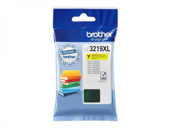 Brother LC3219XLY - XL - Gelb - Original - Blisterverpackung