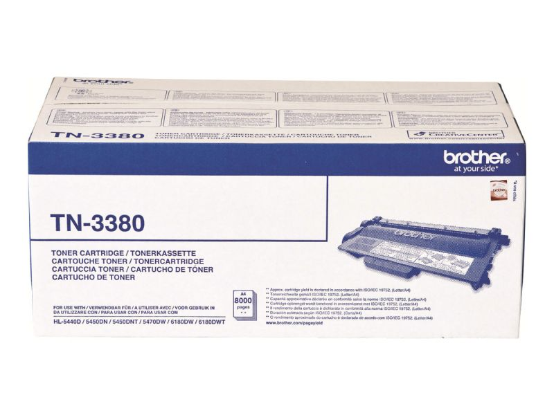 Brother TN-3380 - Schwarz - Original - Tonerpatrone
