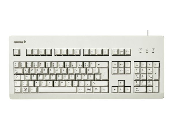 Cherry G80-3000 - Tastatur - PS/2, USB - Deutsch