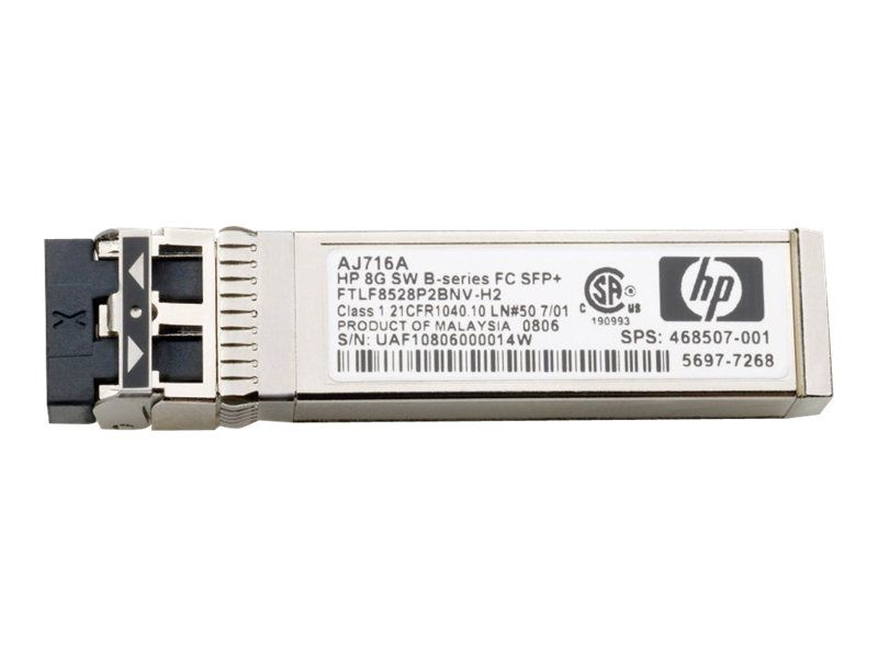 HP Enterprise B-Series - SFP+-Transceiver-Modul - 8 GB Fibre Channel (SW)