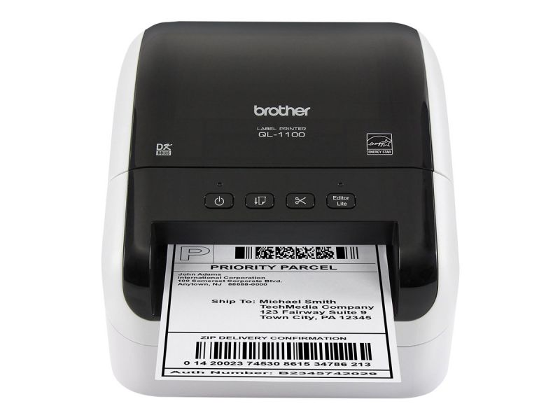 Brother QL-1100 - Etikettendrucker - Thermopapier - Rolle (10,36 cm)