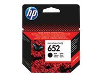 HP 652 - Dye-Based Black - Original - Ink Advantage