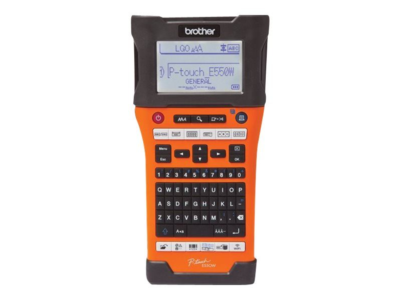 Brother P-Touch PT-E550WVP - Beschriftungsgerät - monochrom - Thermal Transfer - Rolle (2,4 cm)