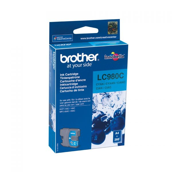 Brother LC980CBPDR - Cyan - Original - Blisterverpackung