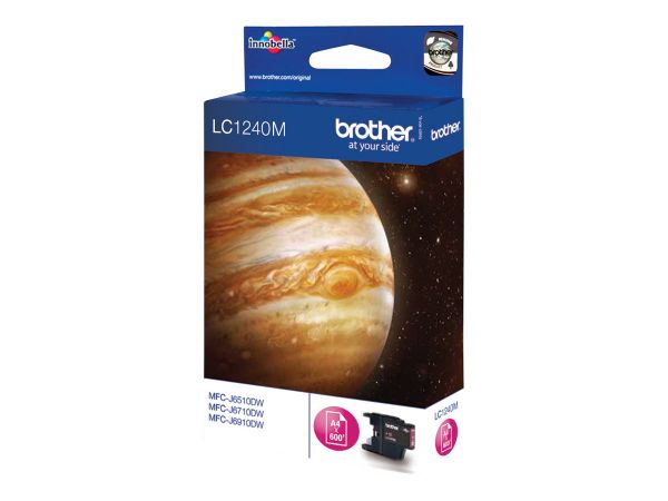 Brother LC1240M - Magenta - Original - Tintenpatrone