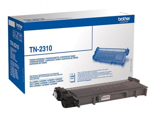 Brother TN-2310 - Schwarz - Original - Tonerpatrone
