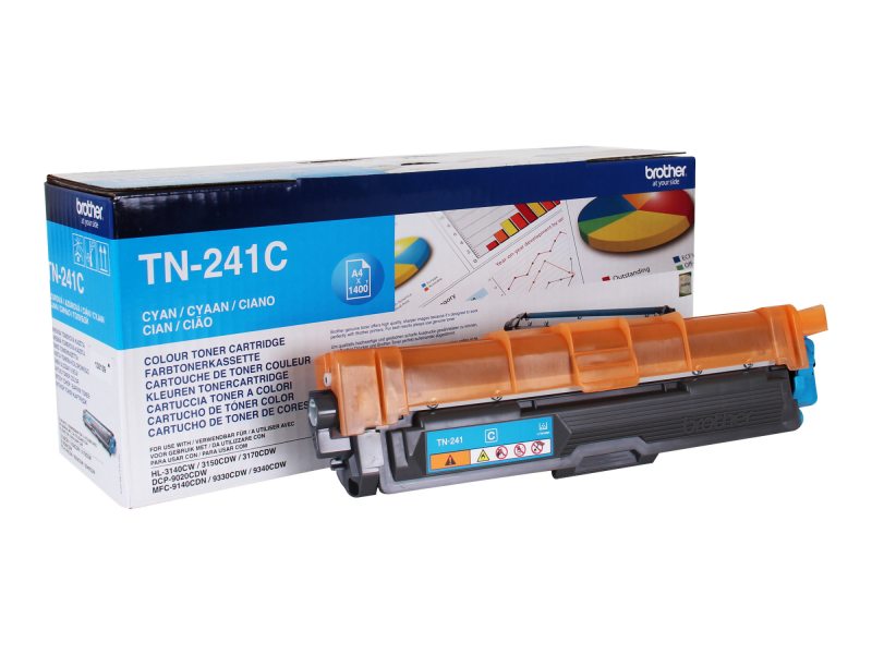 Brother TN-241C - Cyan - Original - Tonerpatrone