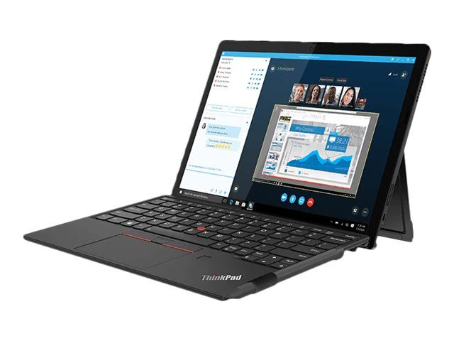 Lenovo ThinkPad X12 Detachable 20UW - Tablet - mit abnehmbarer Tastatur - Core i3 1110G4 / 2.5 GHz -