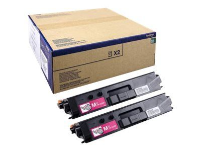 Brother TN-329M - 2er-Pack - Magenta - Original