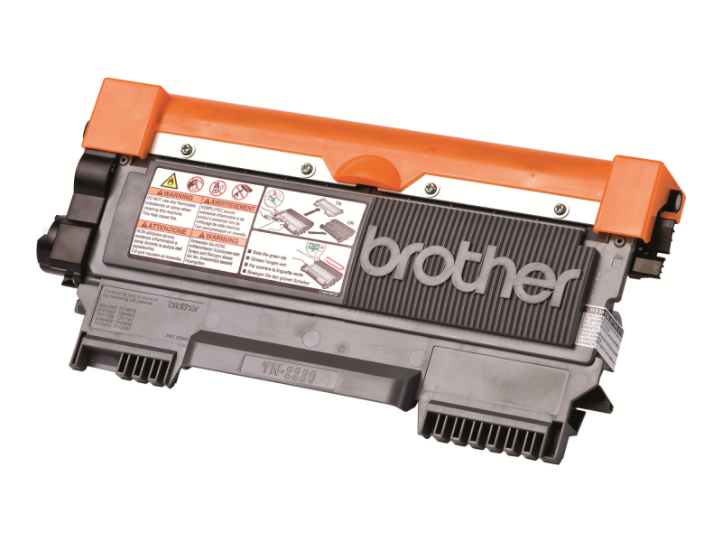 Brother TN2220 - Schwarz - Original - Tonerpatrone