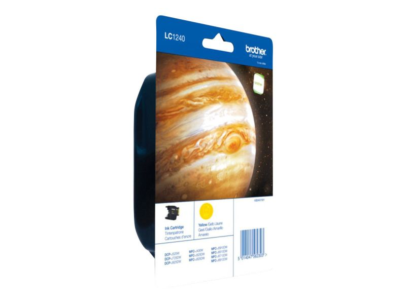 Brother LC1240YBP - Gelb - Original - Blisterverpackung