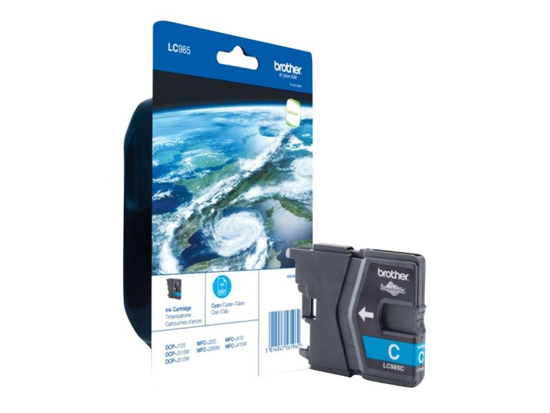 Brother LC985CBP - Cyan - Original - Blisterverpackung