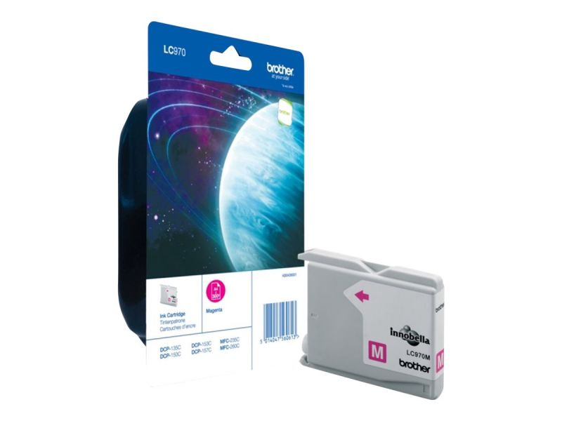 Brother LC970MBP - Magenta - Original - Blisterverpackung