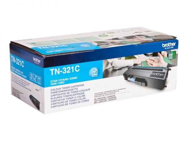 Brother TN321C - Cyan - Original - Tonerpatrone