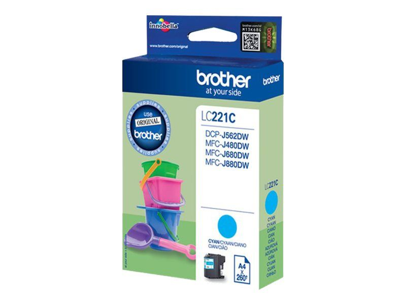 Brother LC221C - Cyan - Original - Blisterverpackung
