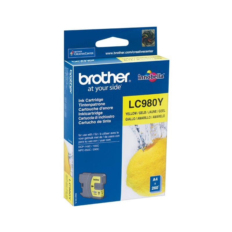 Brother LC-980YBPDR - Gelb - Original - Blisterverpackung