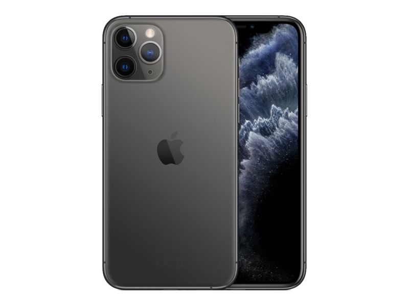 "Apple iPhone 11 Pro - Smartphone - Dual-SIM - 4G Gigabit Class LTE - 256 GB - GSM - 5.8"" - 2436 x 11"