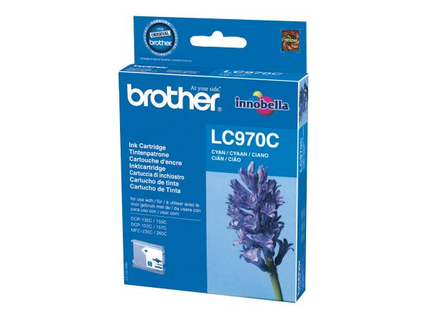 Brother LC970C - Cyan - Original - Tintenpatrone