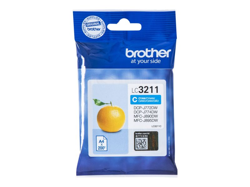 Brother LC-3211C - Cyan - Original - Tintenpatrone