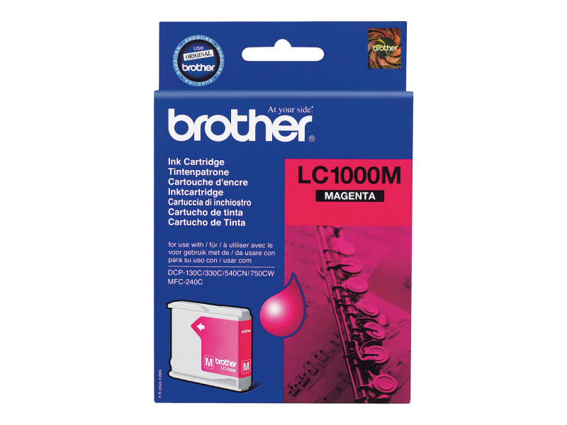 Brother LC1000M - Magenta - Original - Tintenpatrone