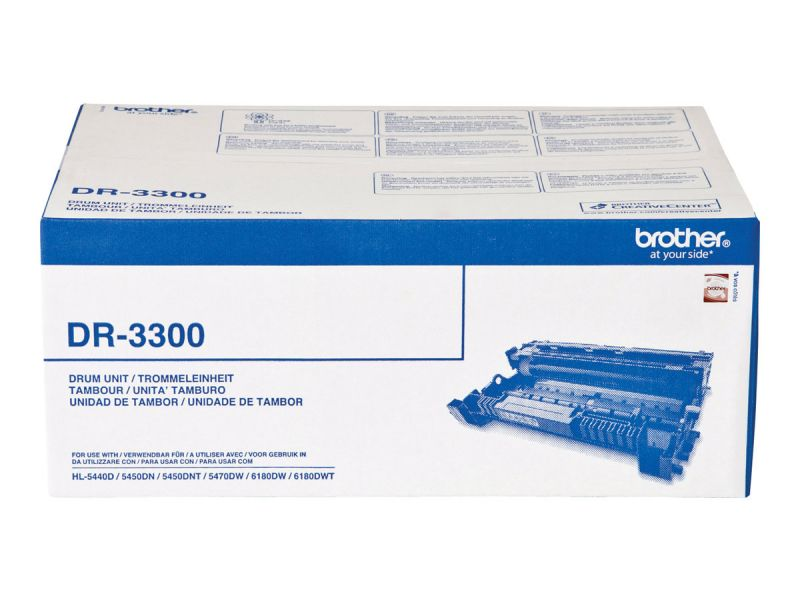 Brother DR-3300 - OPC-Tommeleinheit - für Brother DCP-8110