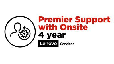 Lenovo 4 Year Premier Support With Onsite - 4 Jahr(e)